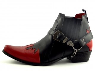 Selma Moto/West 1222 Black/Red